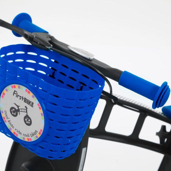 FB Mandje Blauw op fiets