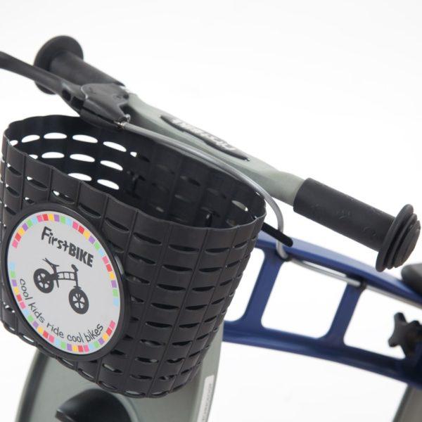 FB Mandje Zwart op fiets